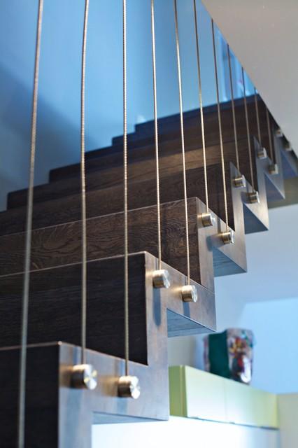 faltwerktreppe trier modern treppen sonstige von. Black Bedroom Furniture Sets. Home Design Ideas