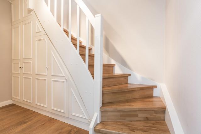 Treppe Mit Setzstufen skandinavische treppen mit holz setzstufen ideen design bilder