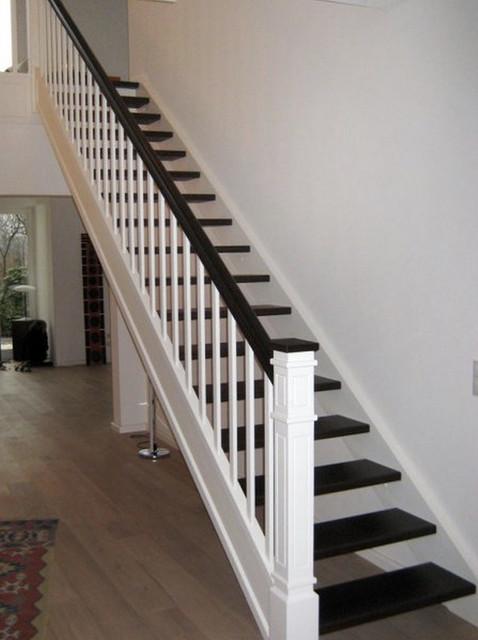 Geradläufige Treppe geradläufige treppe ansicht 1 etage