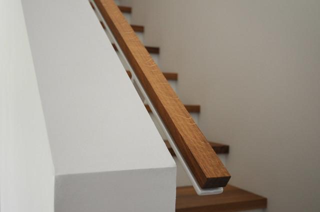 Treppen Nürnberg handlauf aus holz und stahl skandinavisch treppen nürnberg