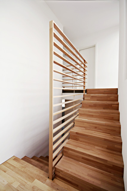 Hängele Treppenhaus haus ha treppe oben modern treppenhaus stuttgart herzog herzog architekten bda
