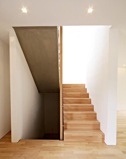 Treppenaufgang Tür haus ha treppenaufgang modern treppen stuttgart herzog