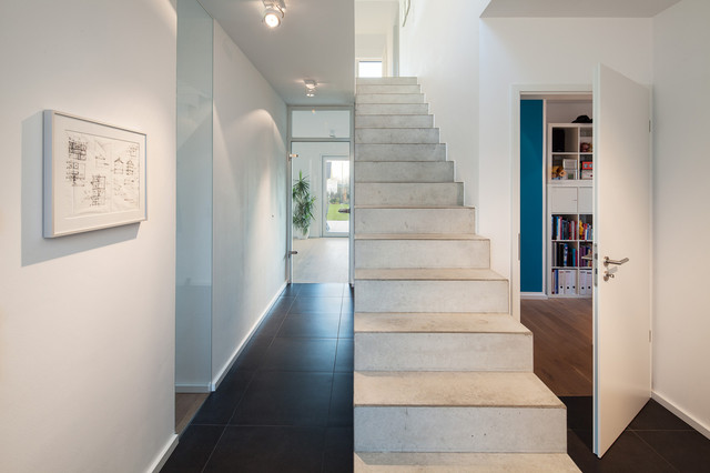 haus l modern treppen k ln von stkn architekten. Black Bedroom Furniture Sets. Home Design Ideas
