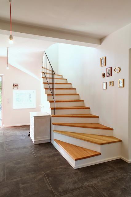 Haus rohlfs klassisch modern treppen k ln von for Haus klassisch modern
