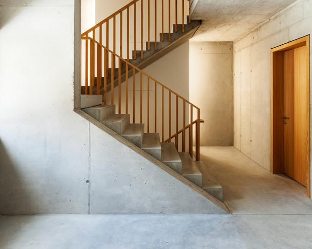 Innovative Heizsysteme infrarot heizsysteme loft treppenhaus contemporary staircase