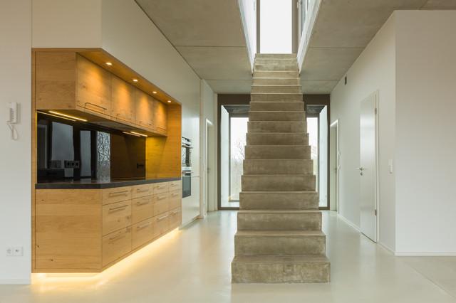 k che 02 contemporary staircase dresden by diemeistertischler. Black Bedroom Furniture Sets. Home Design Ideas