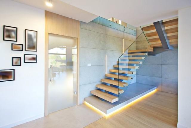 mittelholmtreppe karlsruhe modern treppen sonstige. Black Bedroom Furniture Sets. Home Design Ideas