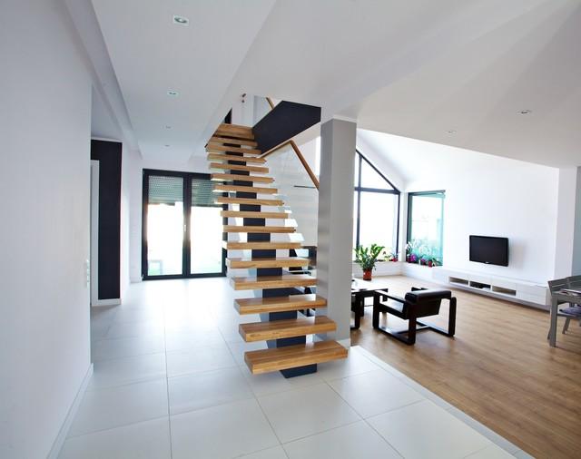 Mittelholmtreppe minden for Moderne innenarchitektur fotos