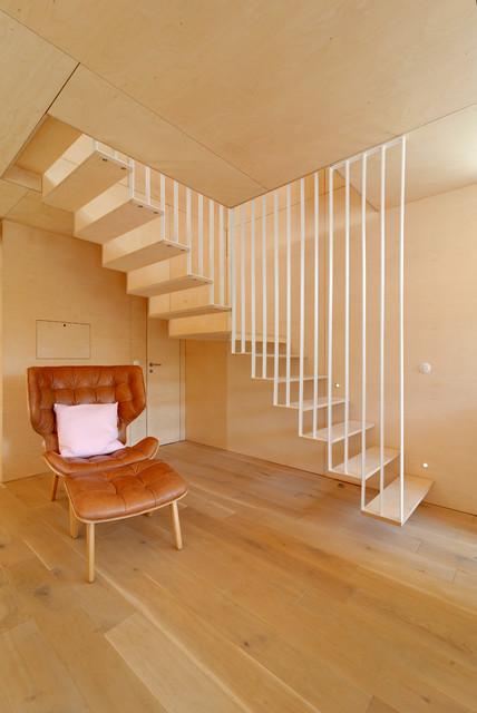 Treppenhaus Modern modern treppenhaus