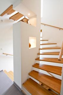 moderne kaffeem hle modern treppen hamburg von architekt vsm. Black Bedroom Furniture Sets. Home Design Ideas