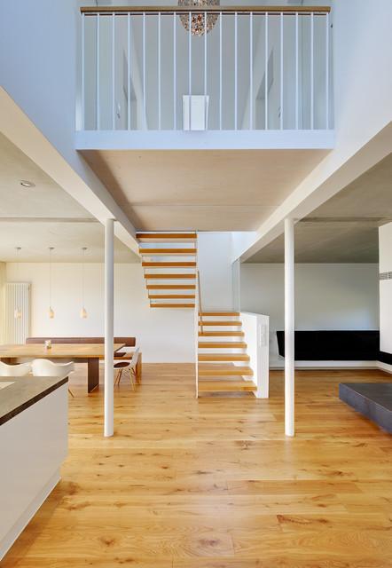 dekoration wohnung ideen ~ kreative deko-ideen und innenarchitektur - Modern Und Rustikal Mit Treppenhaus