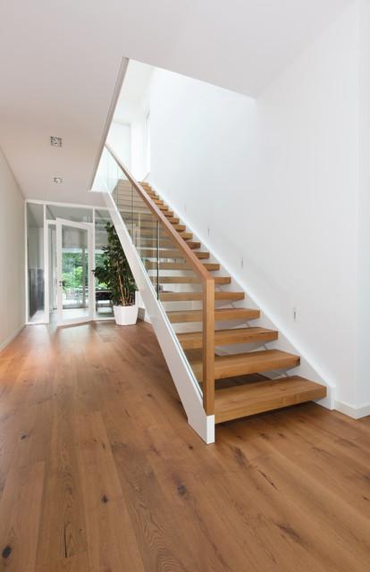 Neubau Einfamilienhaus Contemporary Staircase