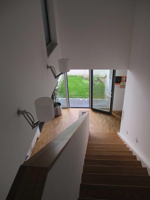 neubau einfamilienhaus waiblingen treppenhaus. Black Bedroom Furniture Sets. Home Design Ideas
