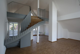 neubau mehrfamilienhaus n rnberg m geldorf modern treppen n rnberg von ramst tter. Black Bedroom Furniture Sets. Home Design Ideas