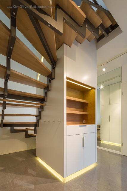 Treppen Dresden privates treppenhaus modern treppen dresden oliver