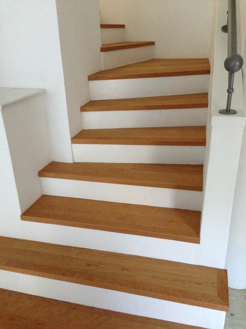 reihenhaus modern treppenhaus berlin von s w. Black Bedroom Furniture Sets. Home Design Ideas