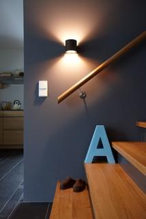 sch ner wohnen haus treppenhaus stuttgart von. Black Bedroom Furniture Sets. Home Design Ideas