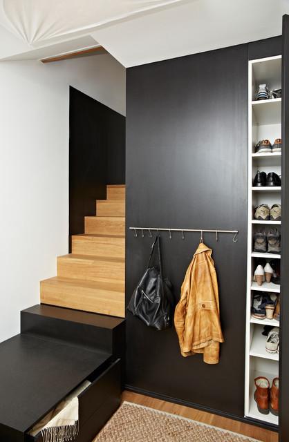 Moderne Schuhschrank schrank treppenkombination und schuhschrank modern treppen