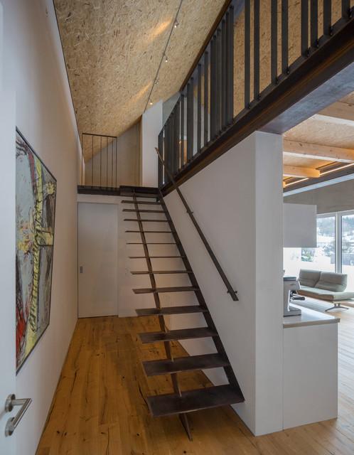 Fabi Architekten soltär industrial staircase other by fabi architekten bda