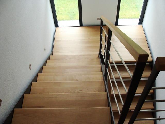 stahlwangentreppe modern treppen sonstige von. Black Bedroom Furniture Sets. Home Design Ideas