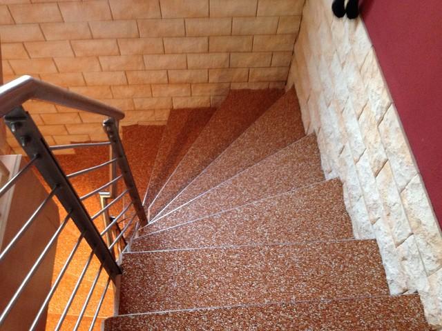 Steinteppich kieselbeschichtung minimalistisch - Steinteppich fliesen ...
