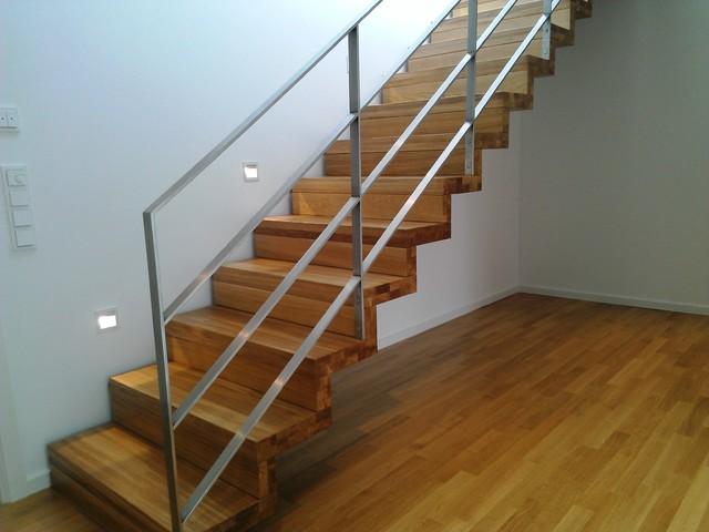 treppe des monats dezember 2015gerade treppe modern. Black Bedroom Furniture Sets. Home Design Ideas