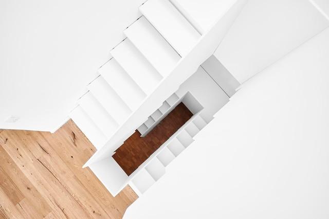 Treppen Dortmund treppe komplett aus weißem hpl modern treppen dortmund hokon