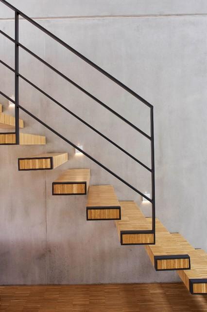 treppe minimalistisch treppen d sseldorf von. Black Bedroom Furniture Sets. Home Design Ideas