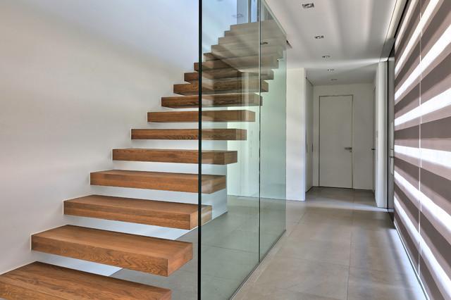 Villa v luxuriöse villa im münsterland minimalistisch