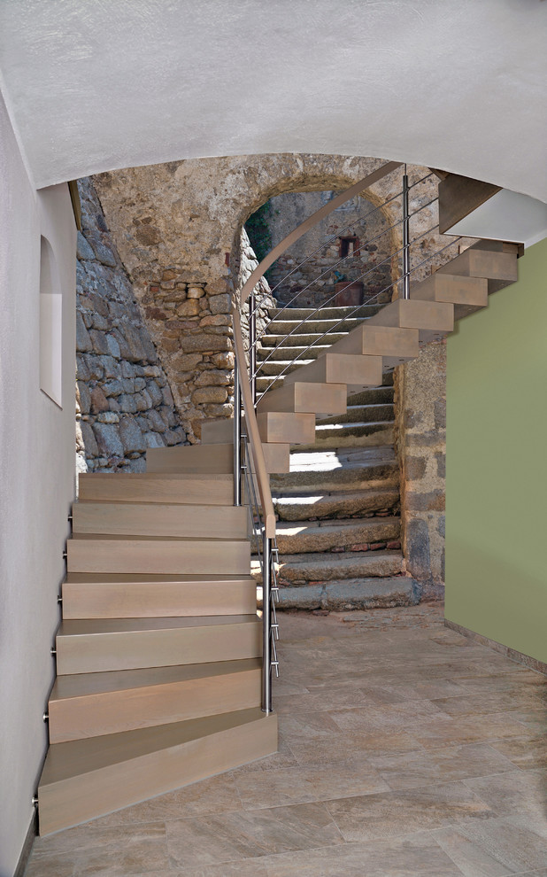 Wandtreppe Rustic Staircase Dresden By Gohlertreppen Gmbh Co Kg