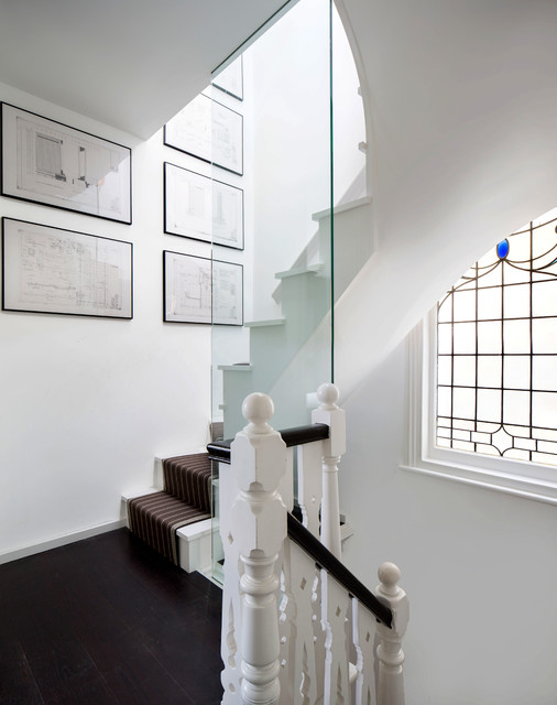 Woodlands Avenue contemporary-staircase