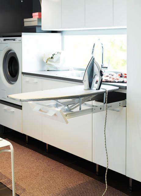 Tvättstuga Annika vit - Modern - Laundry Room - Gothenburg - by ...