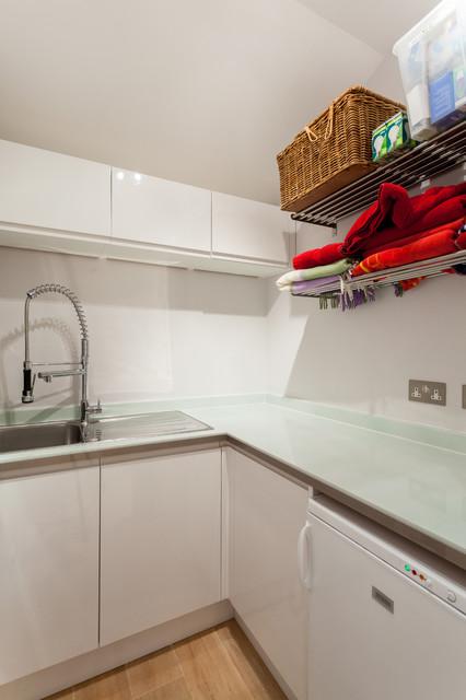 Advantage basements london contemporary utility room for Advantage basements