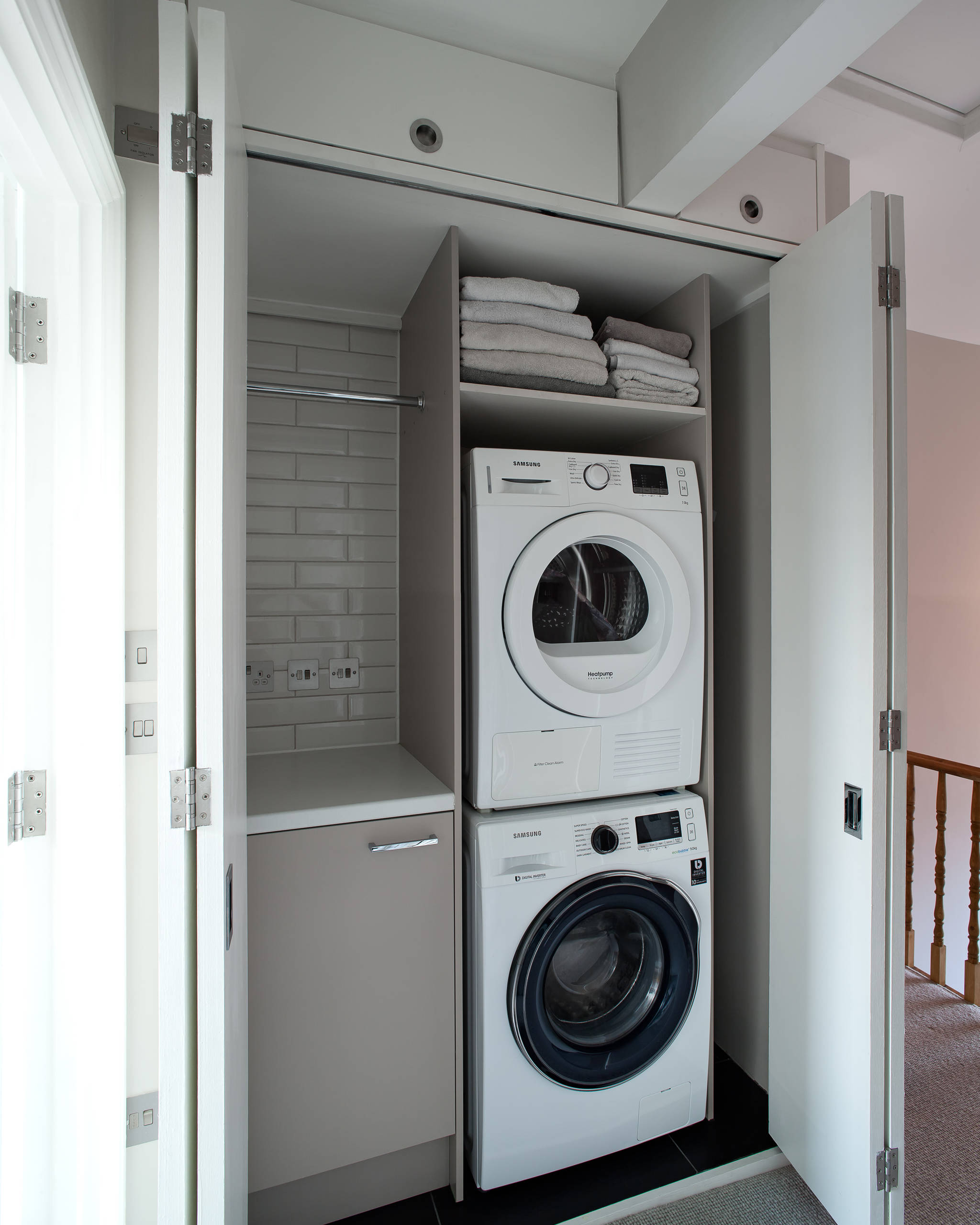 21 Beautiful Laundry Closet Pictures & Ideas  Houzz