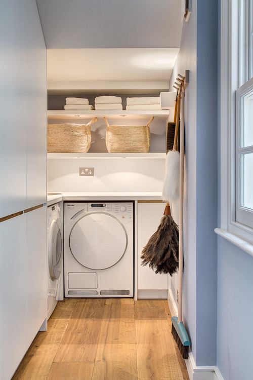 Contemporary Laundry Room by London Design-Build Firms Alex Findlater Ltd