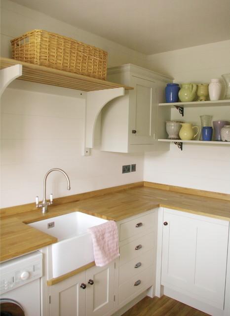 interior design project hampshire farmhouse laundry