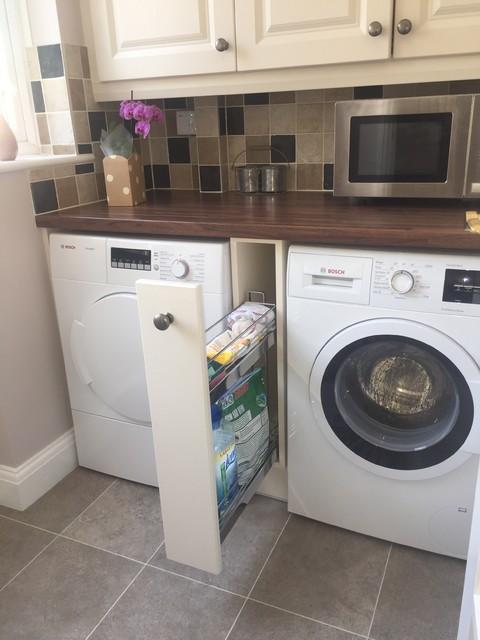 Kitchen & Utility Hoo Kent farmhouse-laundry-room
