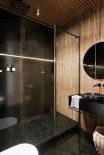 75 Moderne Badezimmer Mit Holzdecke Ideen Bilder Marz 2021 Houzz De