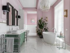 Проект недели Ванная комната из квартиры в Ульяновске (10 photos)