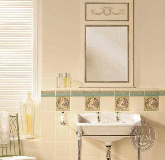 Bathroom Art Nouveau: Коллекция плитки от ORIGINAL STYLE ATRWORKS ART NOUVEAU