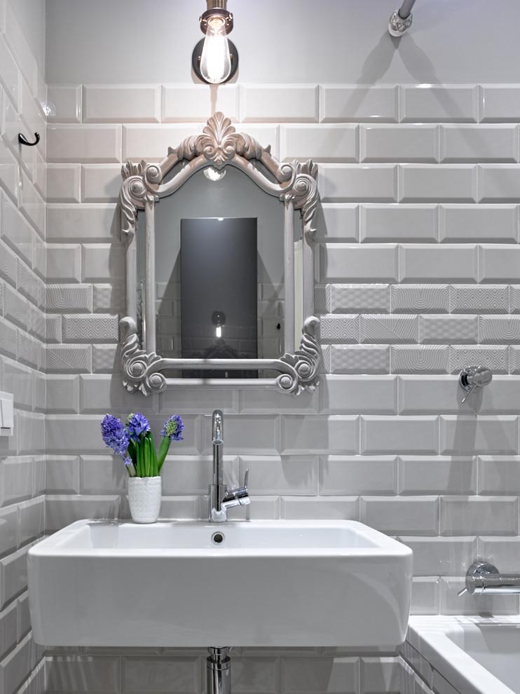 浴室北欧风格装潢图片