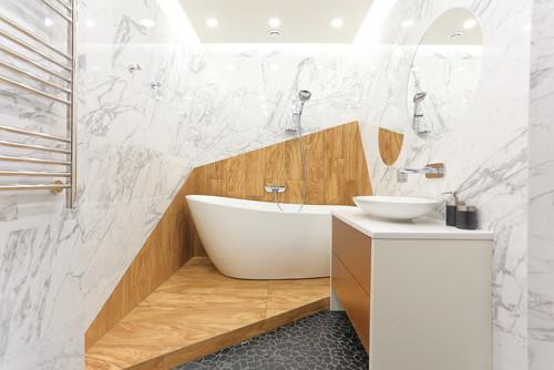 10 bonnes raisons d\'aménager une estrade dans la salle de bains
