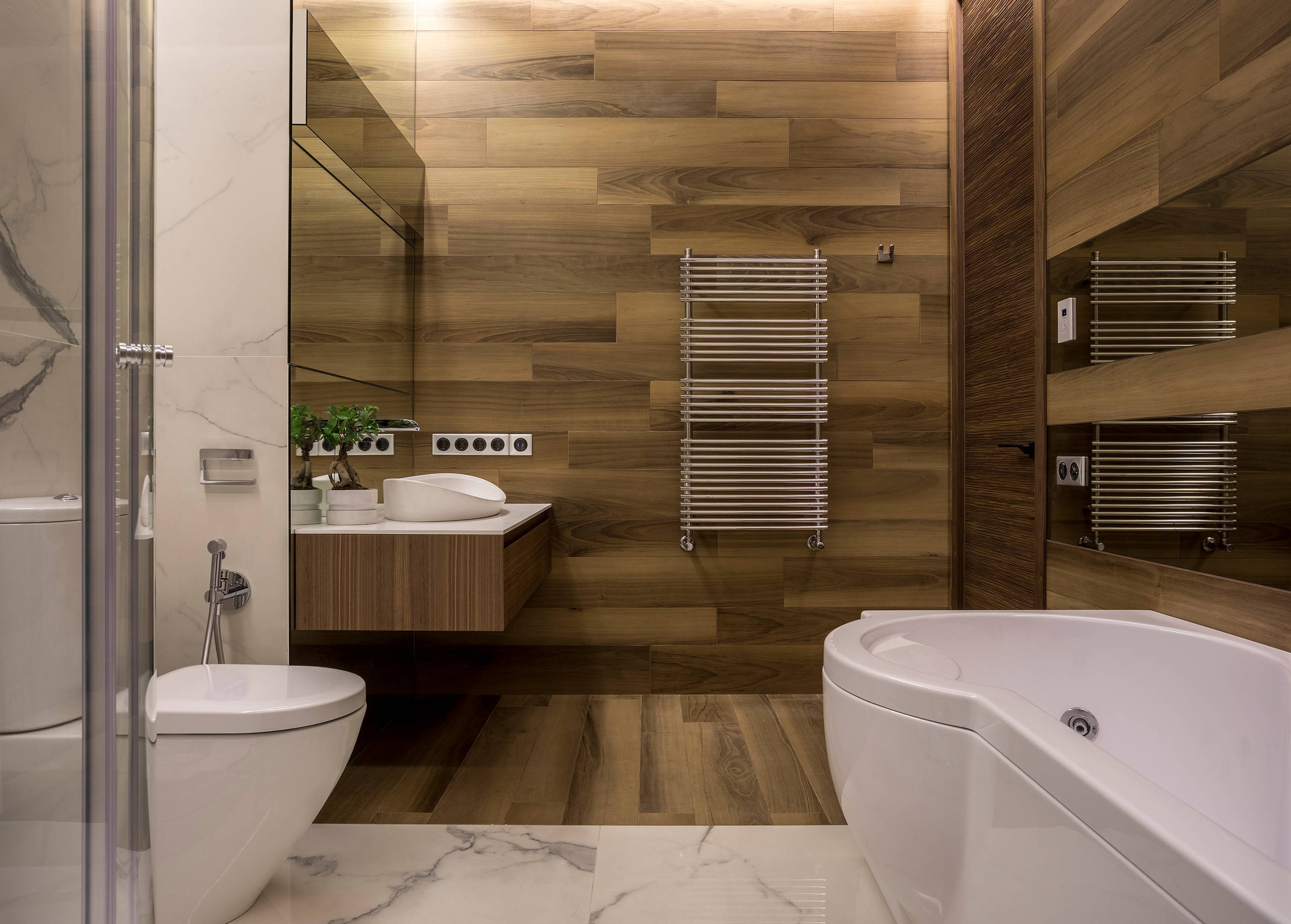 75 Beautiful Bathroom With A Hot Tub Pictures Ideas February 2021 Houzz