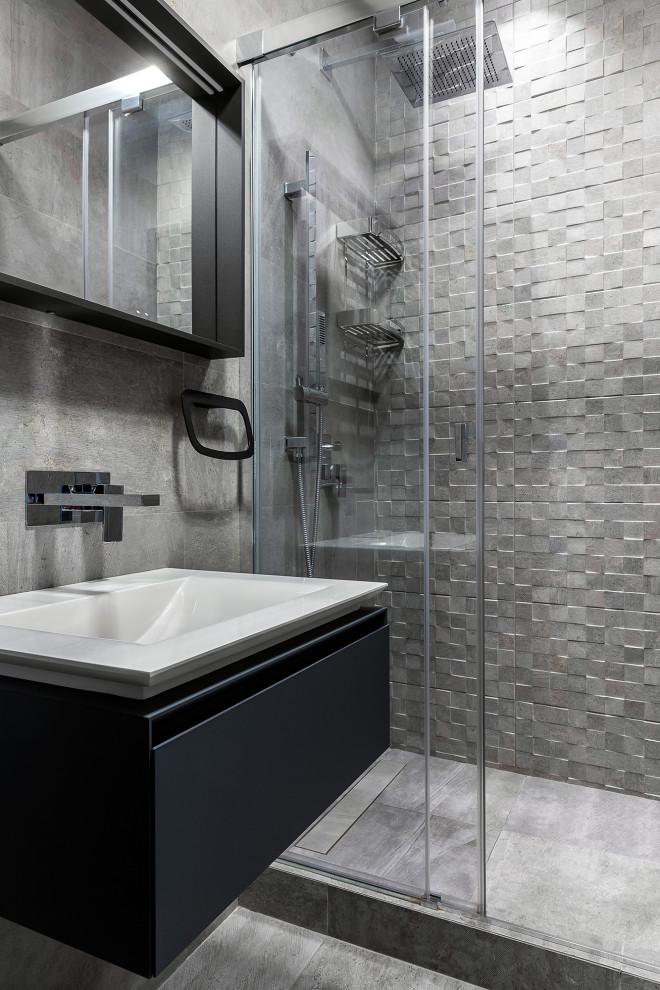 Миралит, Алексеева Юлия ванная 2 - Contemporary - Bathroom ...