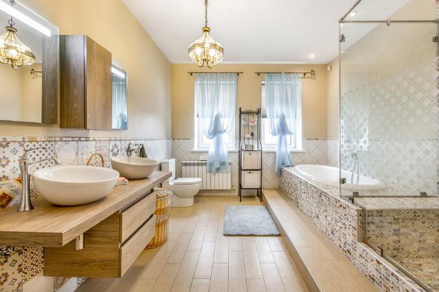 Classique chic salle de bain other metro par - Salle de bain classique chic ...