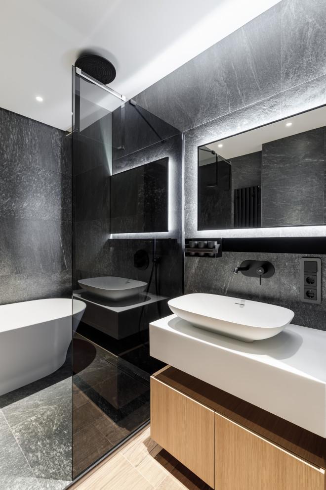 Жк Лахта Плаза - Contemporary - Bathroom - Saint ...