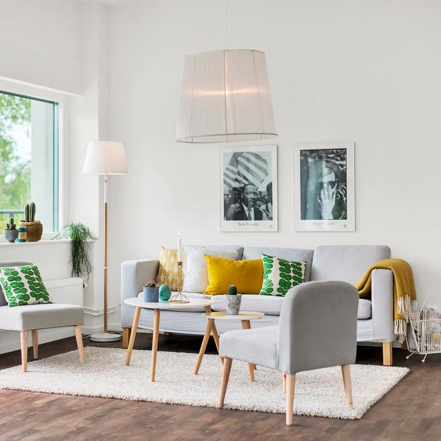 blandat - Scandinavian - Living Room - Stockholm - by gonzo_by_sweden