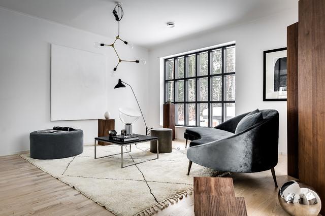 Blooc modern-vardagsrum