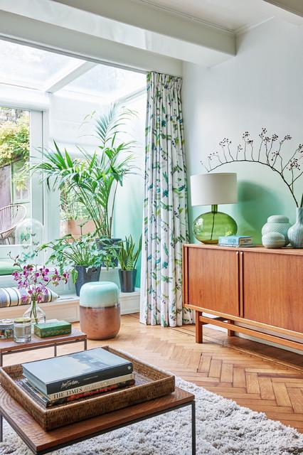 Idéer för vintage vardagsrum