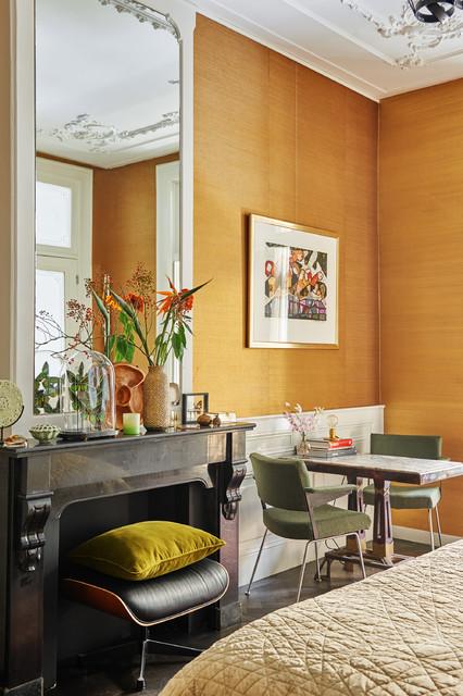 Inredning av ett klassiskt vardagsrum